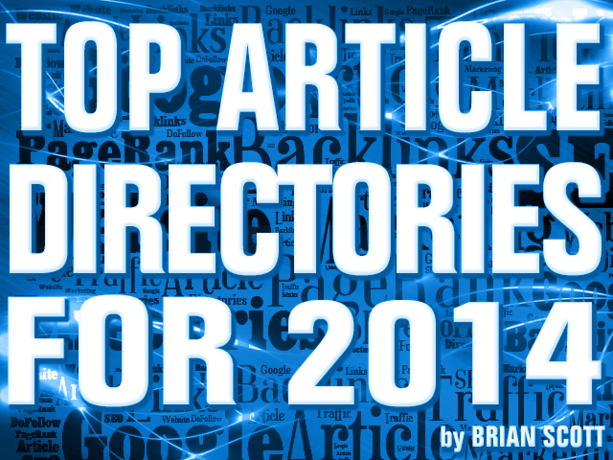 Top Article Directories with High PageRank and Traffic for 2014