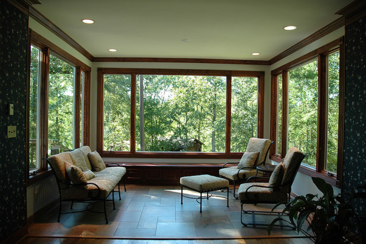 New Energy Efficient Sunroom