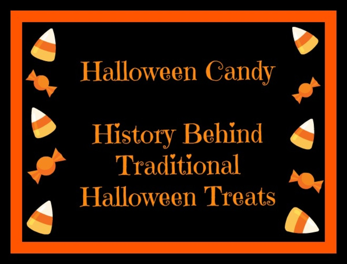 history of common halloween candies