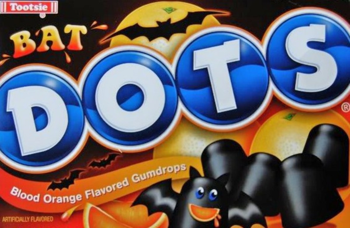 Bat Dots found at Dollar Tree. Still looking for Ghost Dots.