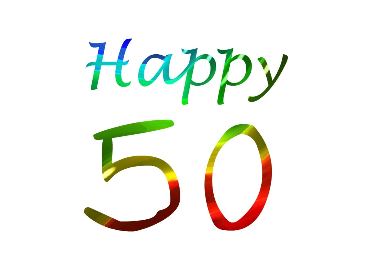 50th Birthday Wishes, Messages and Gift Ideas