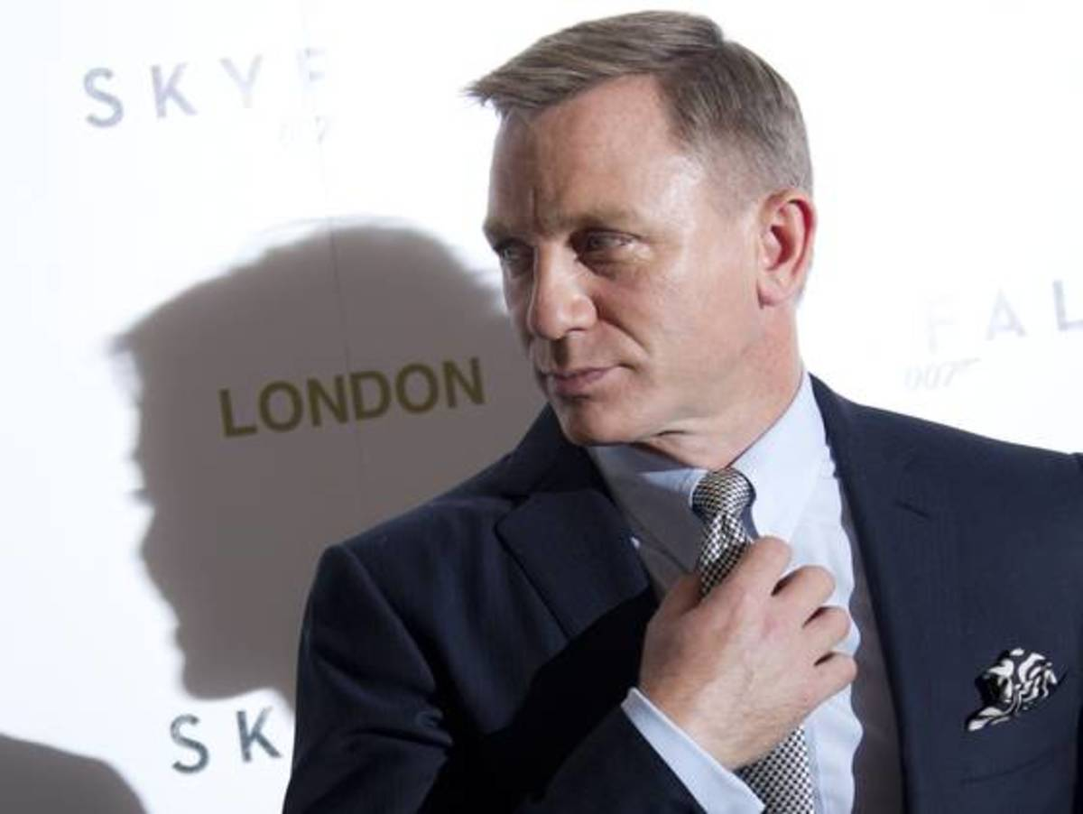 The 23rd film in the Bond series opens in Britain on Friday and in the U.S. Nov. 9.