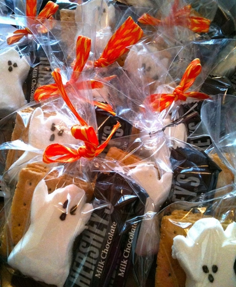 Homemade Halloween gifts