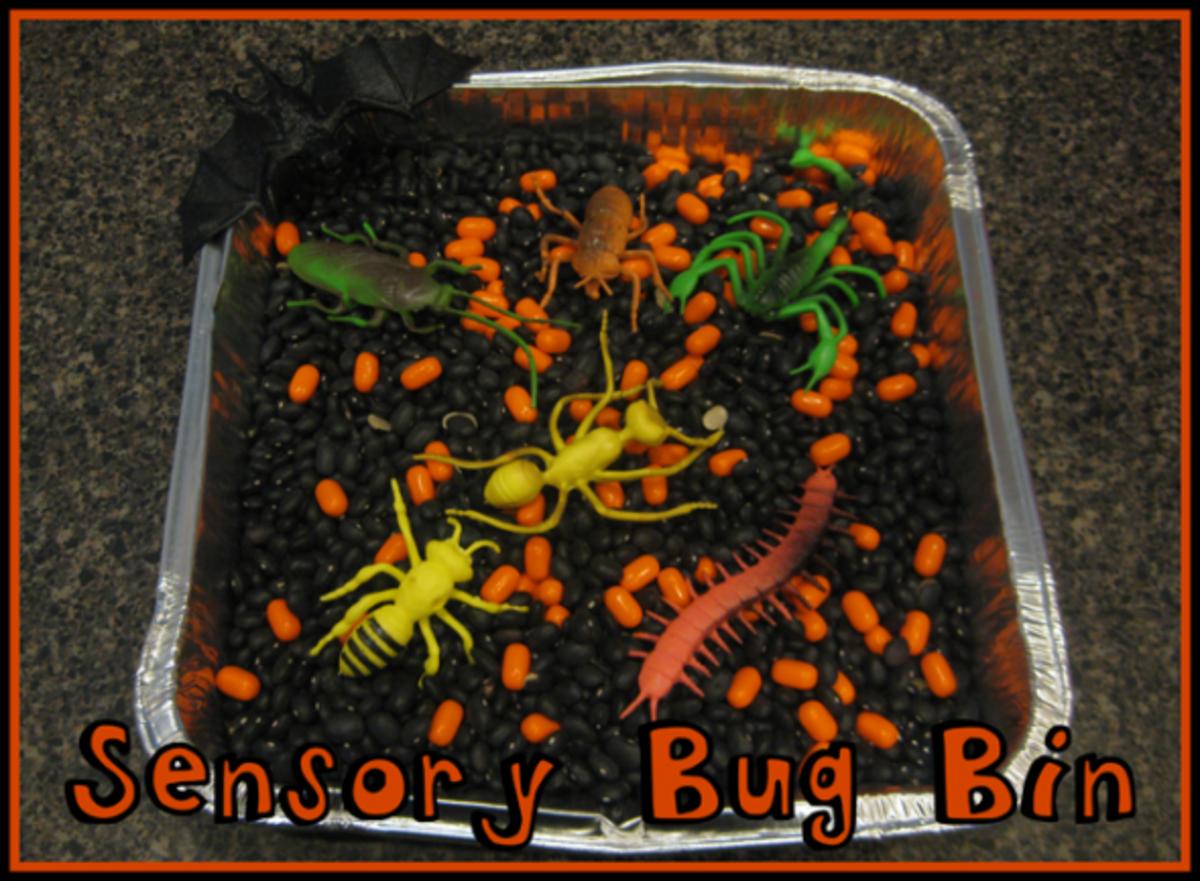 sensory bug bin