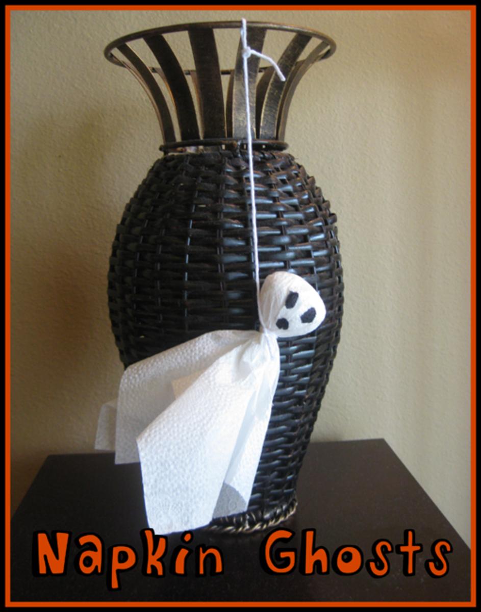 napkin ghosts