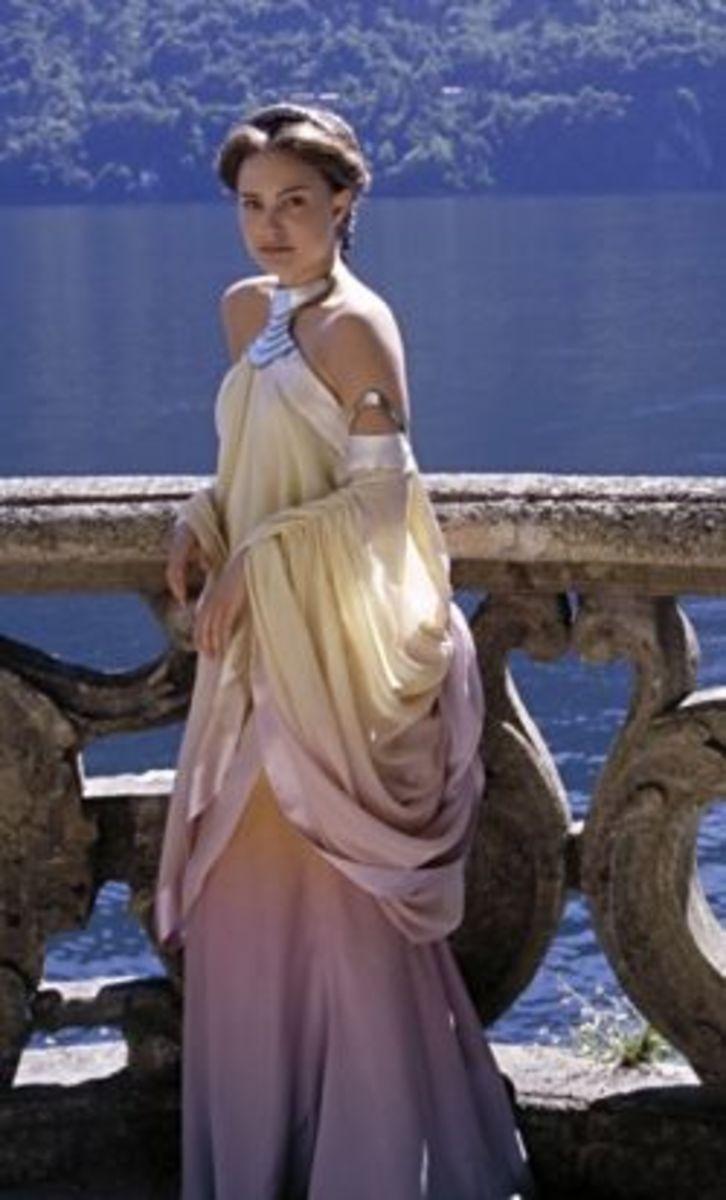 Natalie Portman as Queen Amidala from Star Wars Episode II
