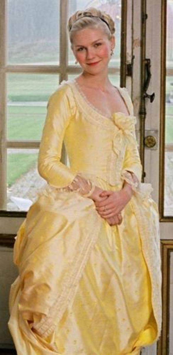 Kristen Dunst as Marie Antoinette