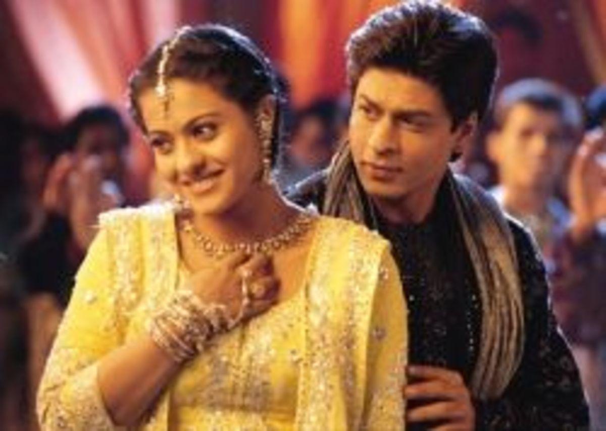 Kajol as Ajali and Shahrukh Khan as Rahul from Kabhi Khushi Khabie Gham