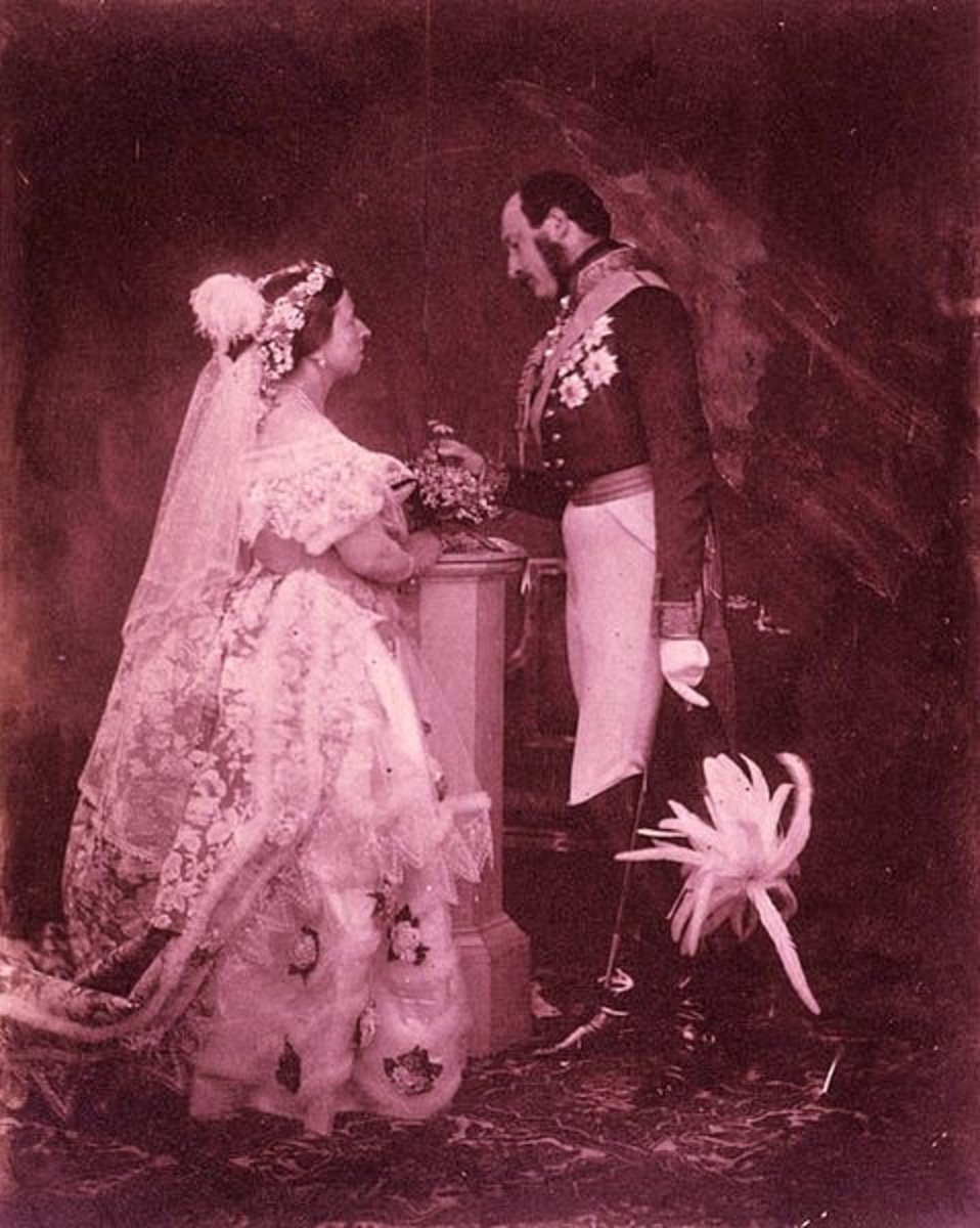 To the western world Prince Albert and Queen Victoria were role models for a happy marriage during the 19th century.