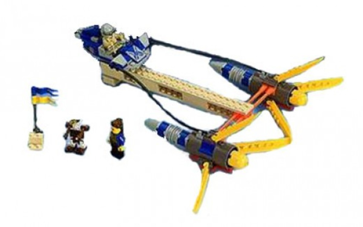 Lego Star Wars Anakin's Podracer 7131 Assembled