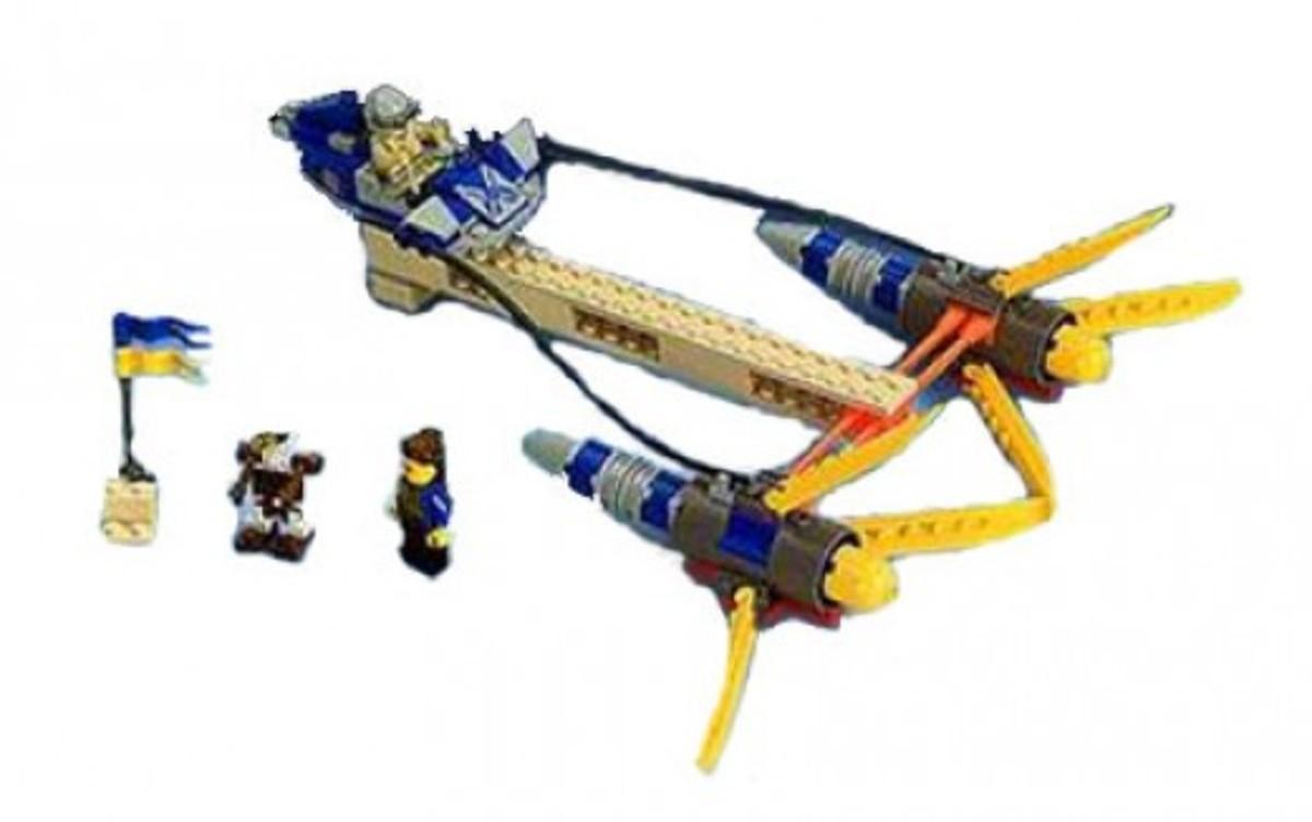 Lego Star Wars Anakin's Podracer 7131 Assembled