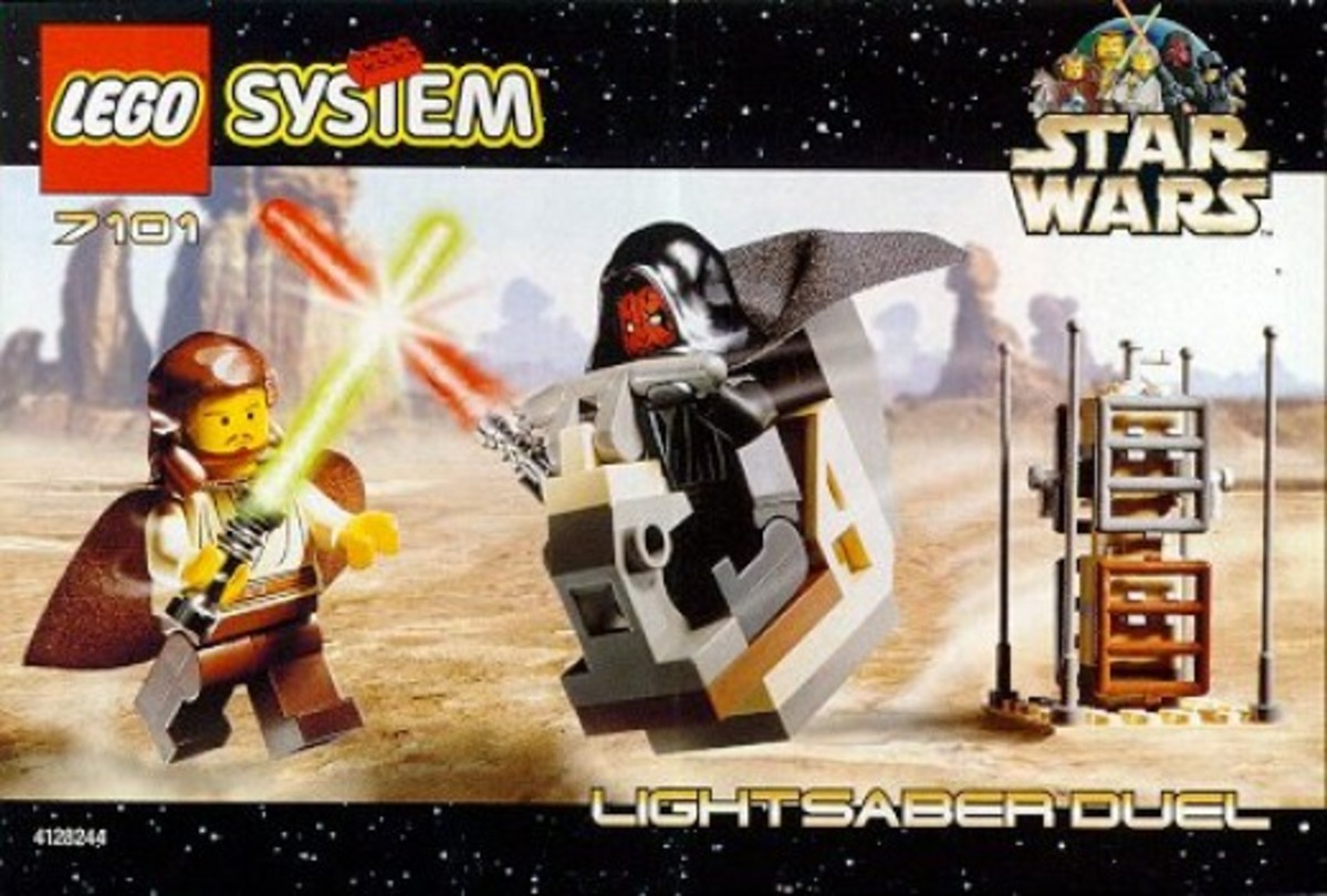 Lego Star Wars Lightsaber Duel 7101 Box