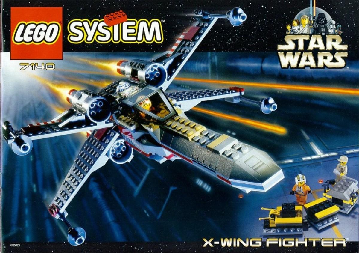 Lego Star Wars X-Wing Fighter 7140 Box