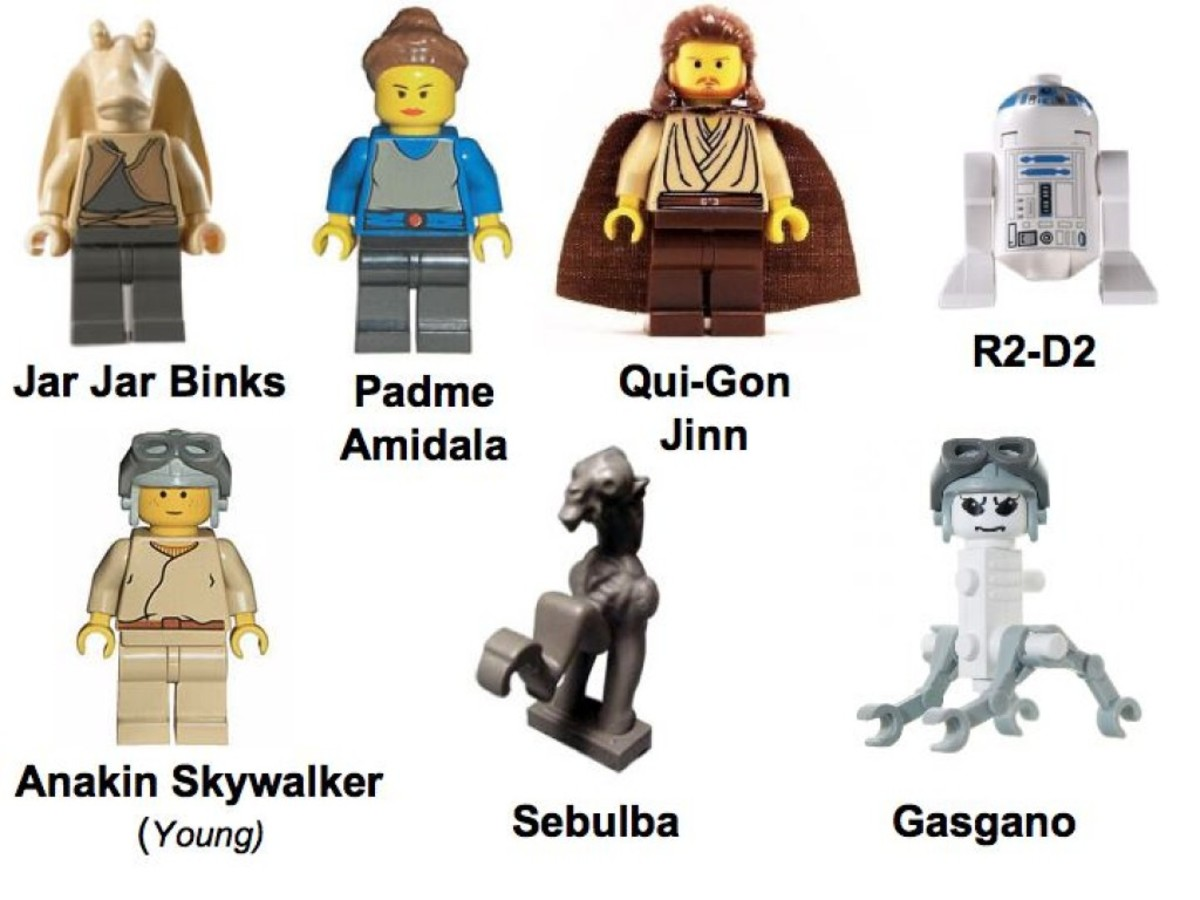 Lego Star Wars Mos Espa Podrace 7171 Minifigures