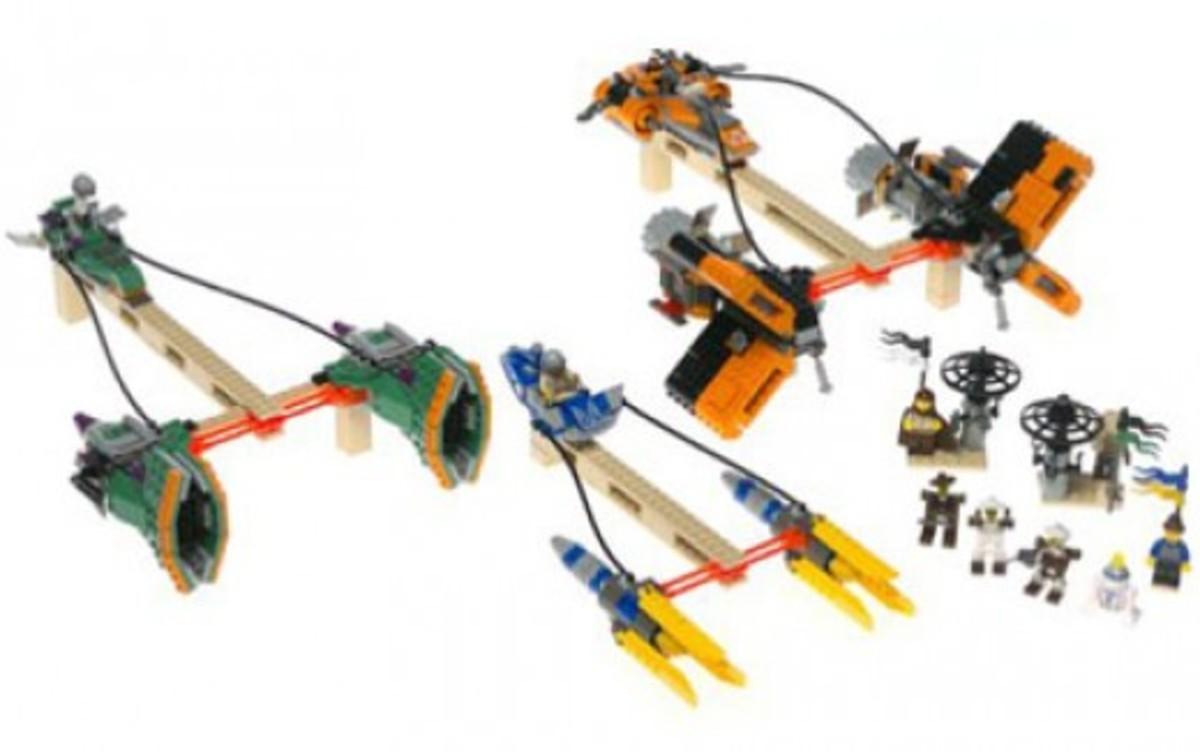 Lego Star Wars Mos Espa Podrace 7171 Assembled