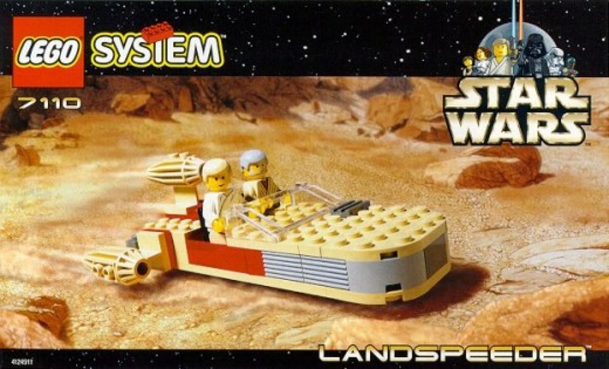 Lego Star Wars Landspeeder 7110 Box