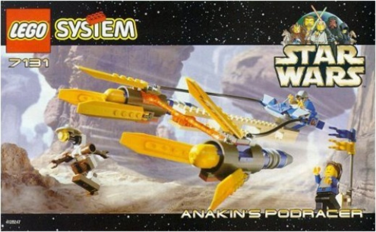 Lego Star Wars Anakin's Podracer 7131 Box