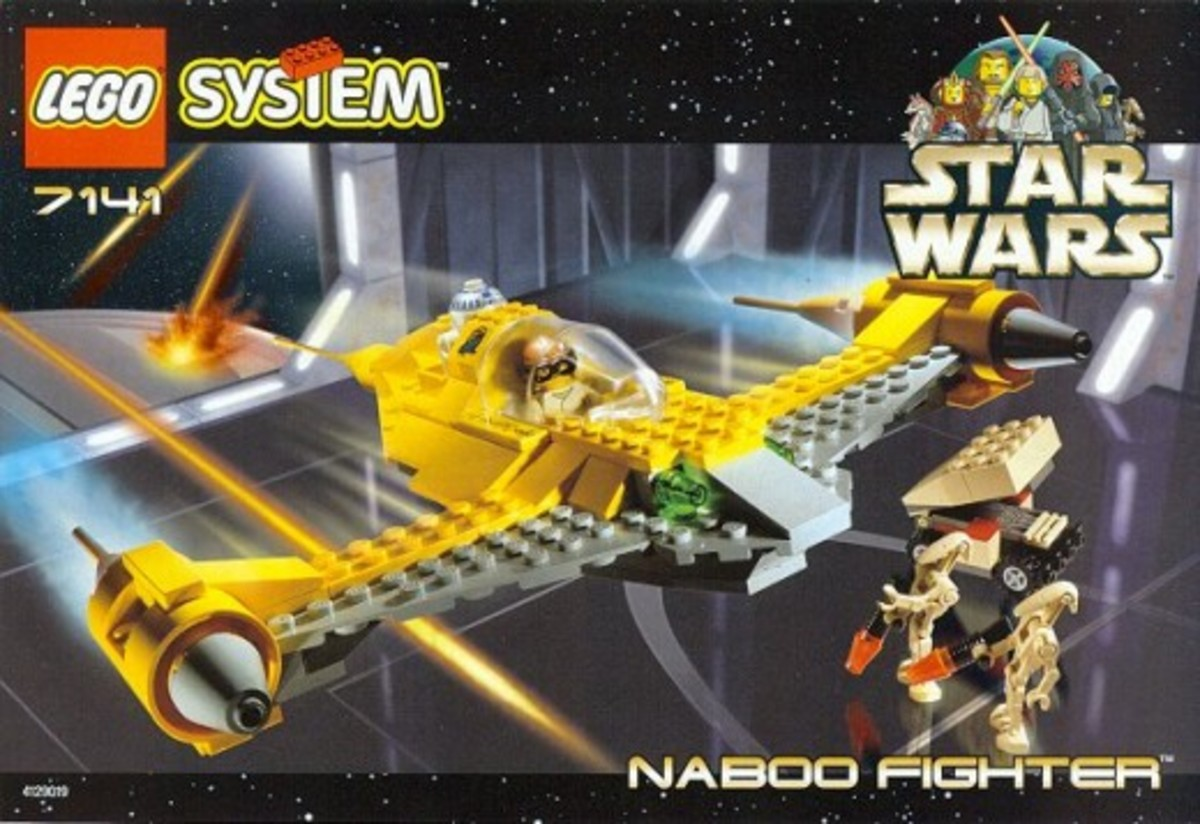 Lego Star Wars Naboo Fighter 7141 Box