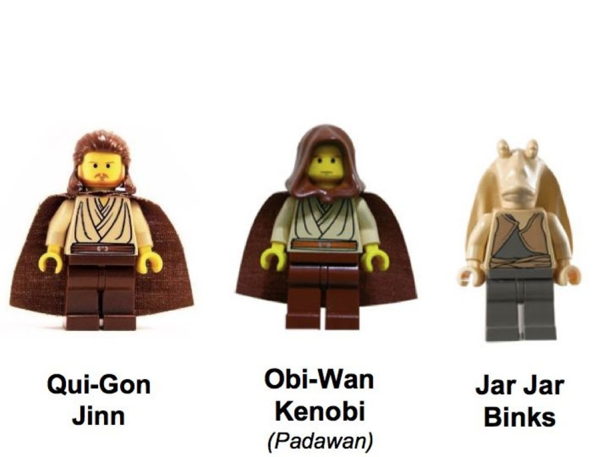 Lego Star Wars Gungan Sub 7161 Minifigures