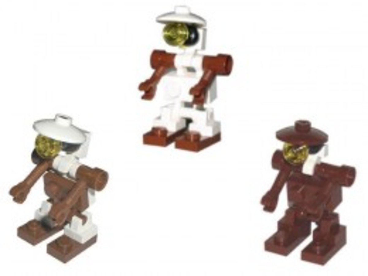 Lego Star Wars Mos Espa Podrace 7171 Pit Droid Minifigures