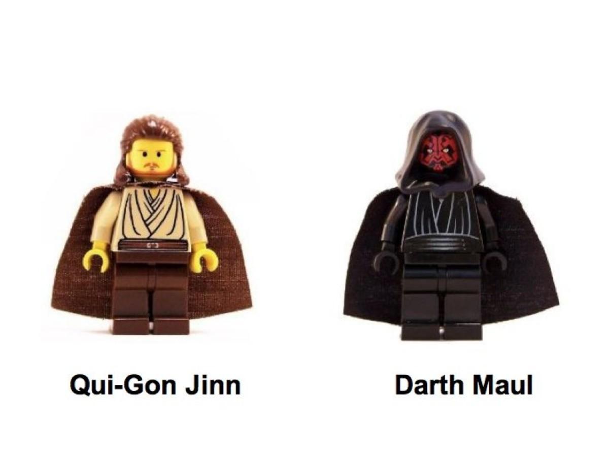 Lego Star Wars Lightsaber Duel 7101 Minifigures