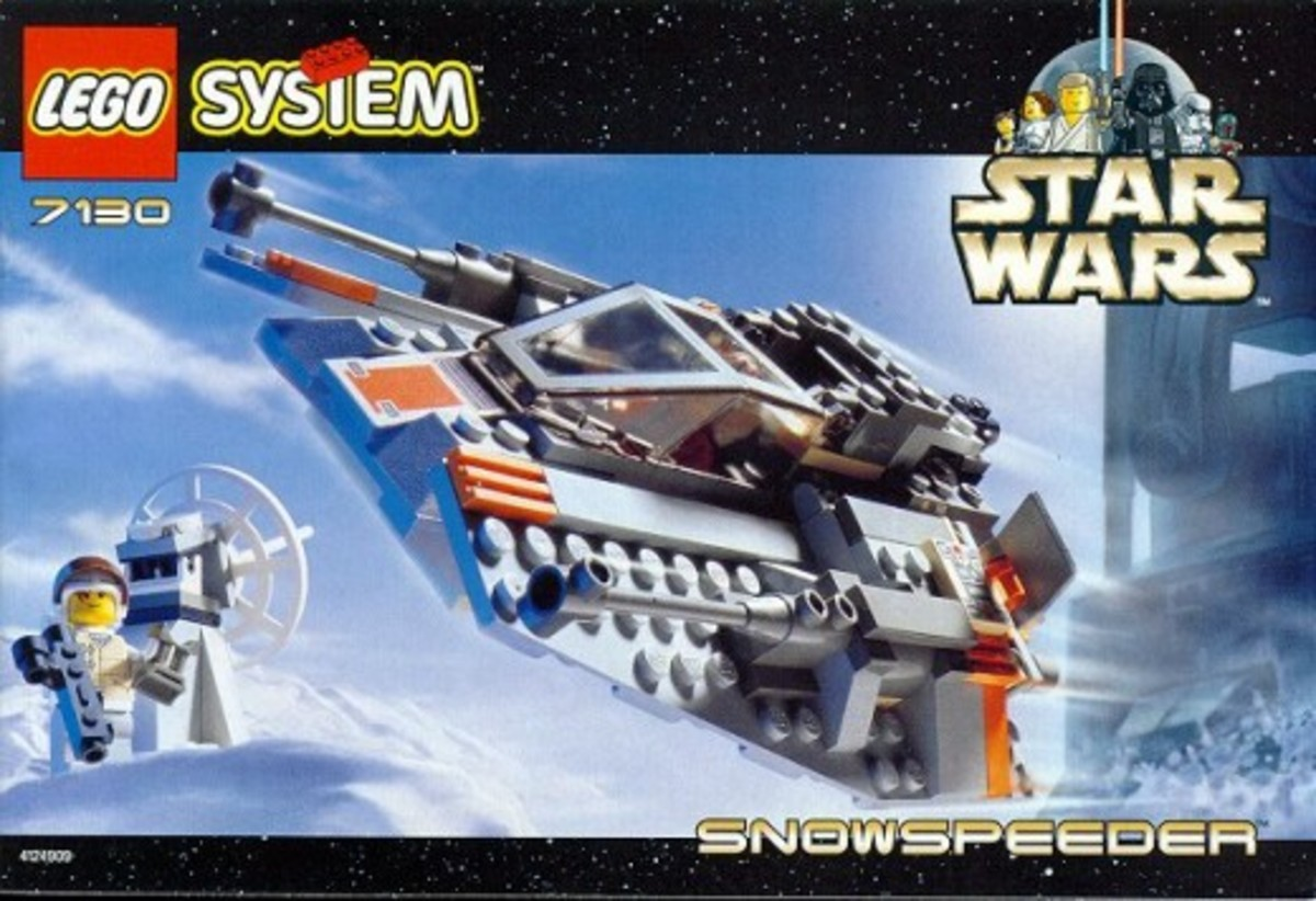 Lego Star Wars Snowspeeder 7130 Box