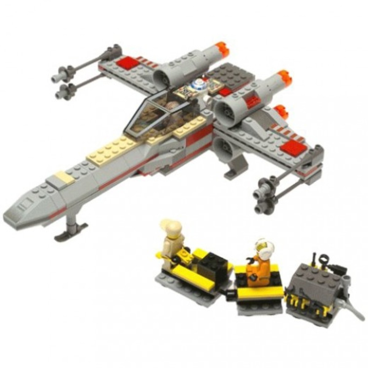 Lego Star Wars X-Wing Fighter 7140 Assembled