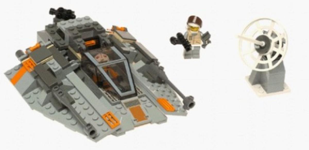 Lego Star Wars Snowspeeder 7130 Assembled