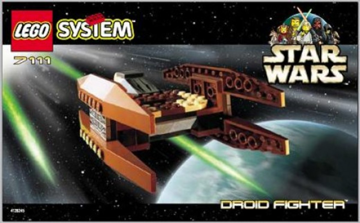 Lego Star Wars Droid Fighter 7111 Box