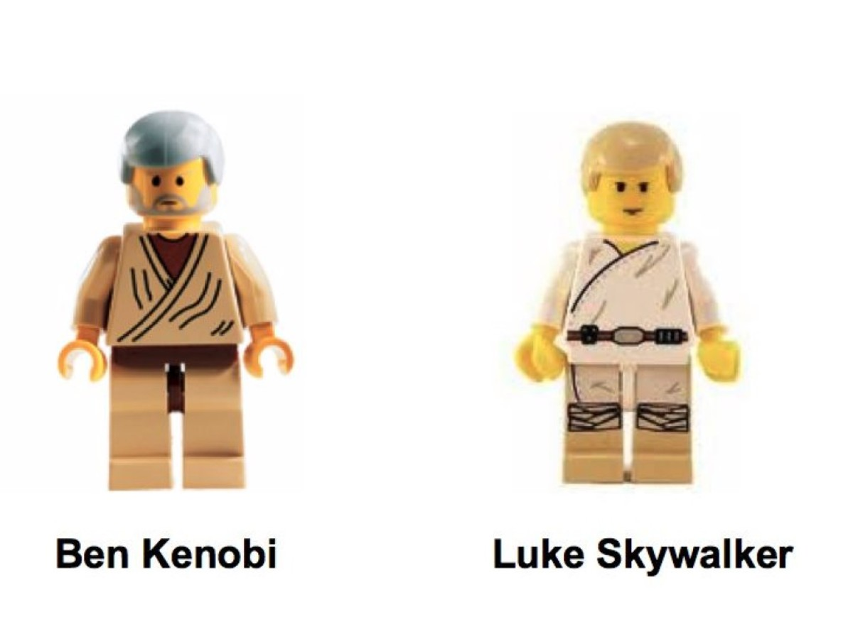Lego Star Wars Landspeeder 7110 Minifigures