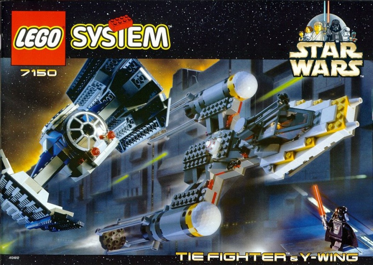 Lego Star Wars TIE Fighter & Y-Wing 7150 Box