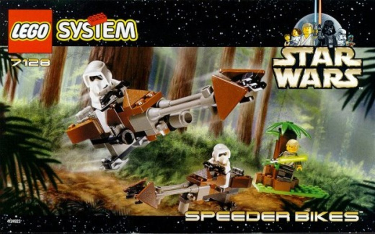 Lego Star Wars Speeder Bikes 7128 Box