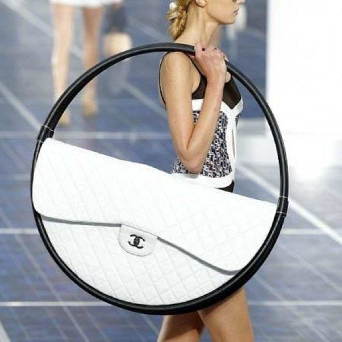 Now this handbag is that crazy that it made the shoe list. Its just too much.
