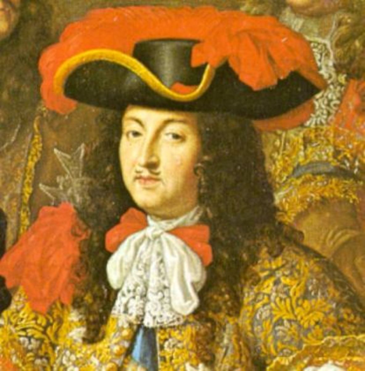 Painting of French King Louis XIV in 1667