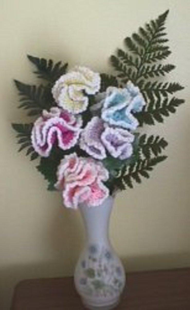 Crochet Carnations