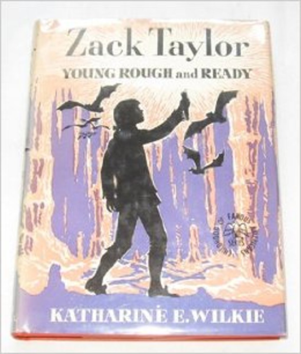 Zack Taylor: Young Rough and Ready (Childhood of famous Americans) by Katharine Elliott Wilkie - All images are from amazon.com.