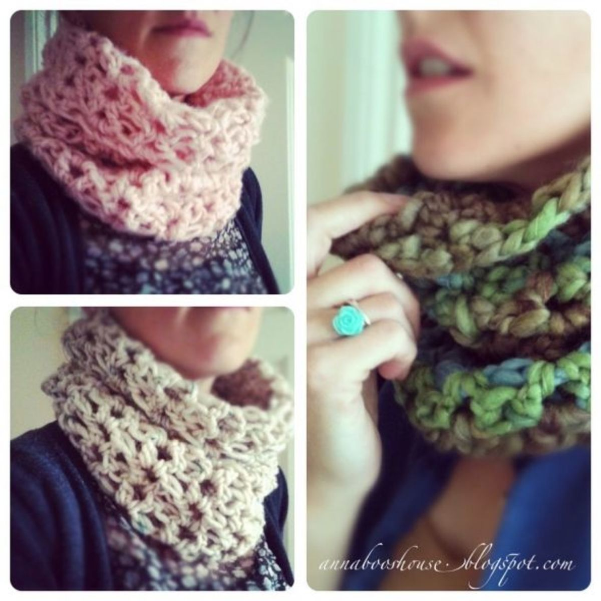 Cowl Snood Neck Scarf