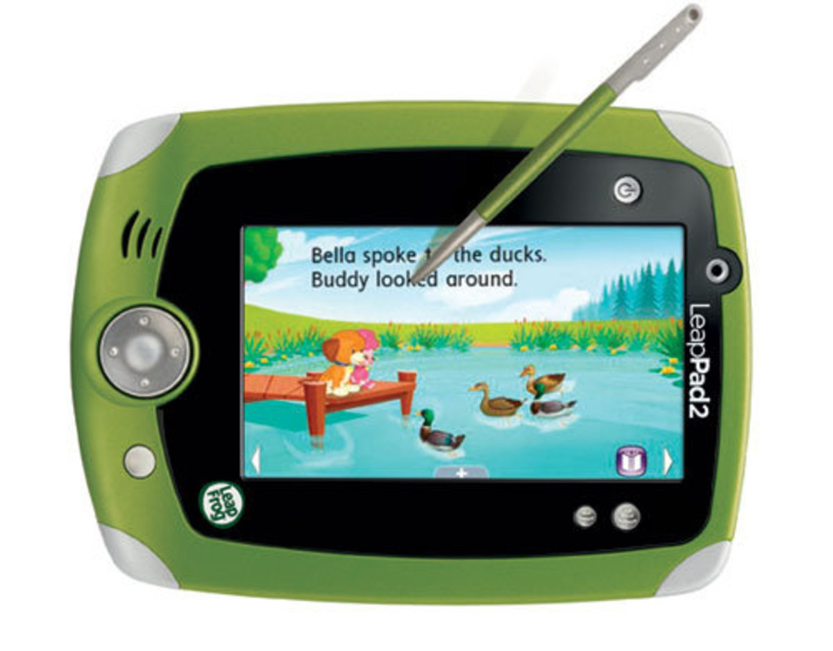 The LeapPad 2 gives kids their own handheld electronic device that can be used as an educational tool.