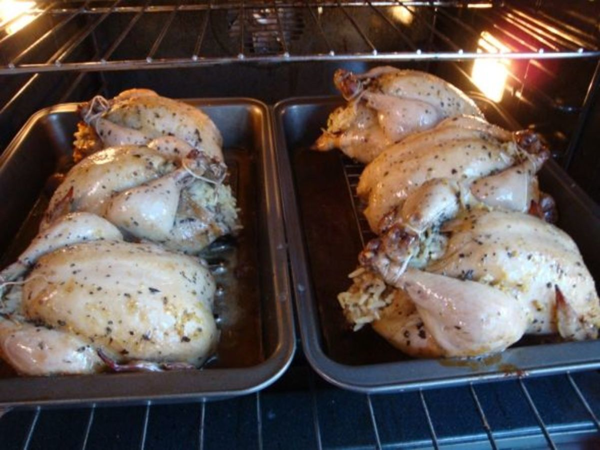 stuffed-cornish-game-hens-with-wild-rice-chestnuts-and-mushrooms