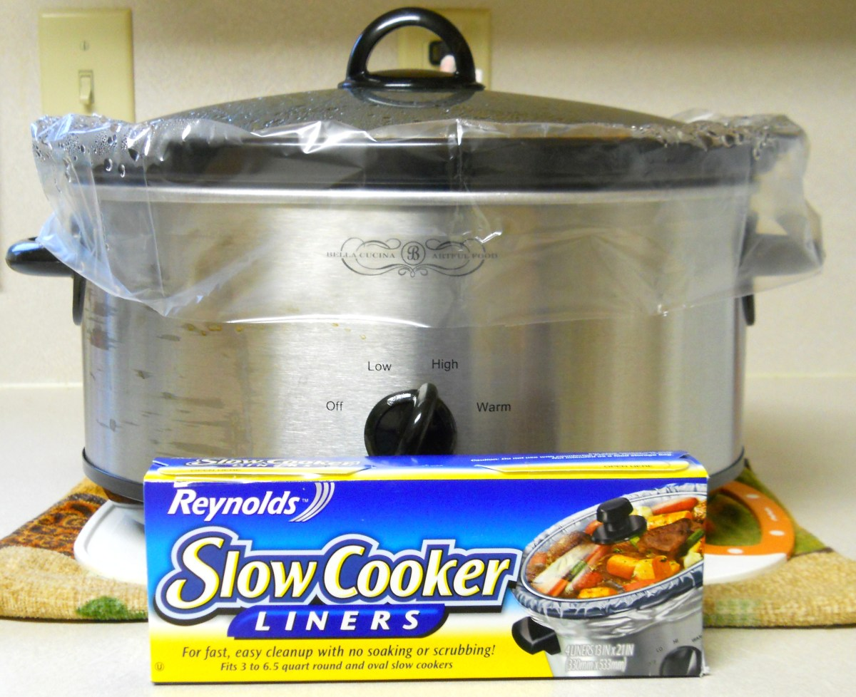 Crock Pot Cleaning is Easy With Reynolds Slow Cooker Liners