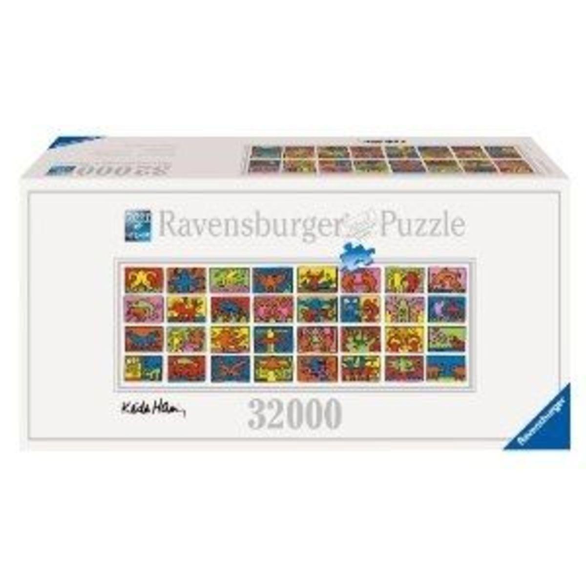 Ravensburger-32,000 pieces of True Family Fun!