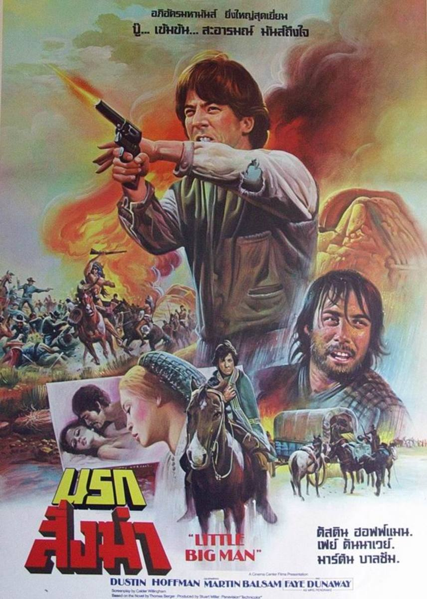 Little Big Man (1970) Thai poster