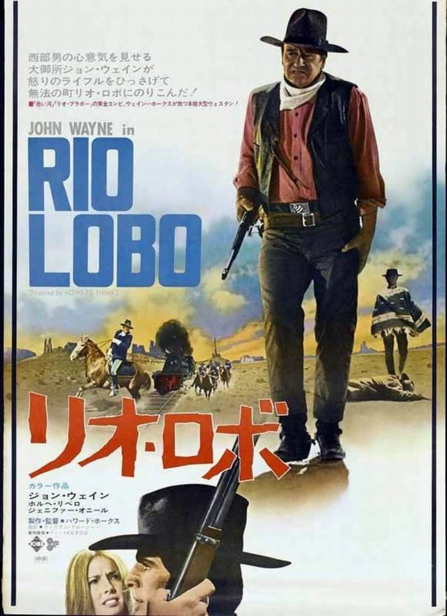 Rio Lobo (1971) Japanese poster