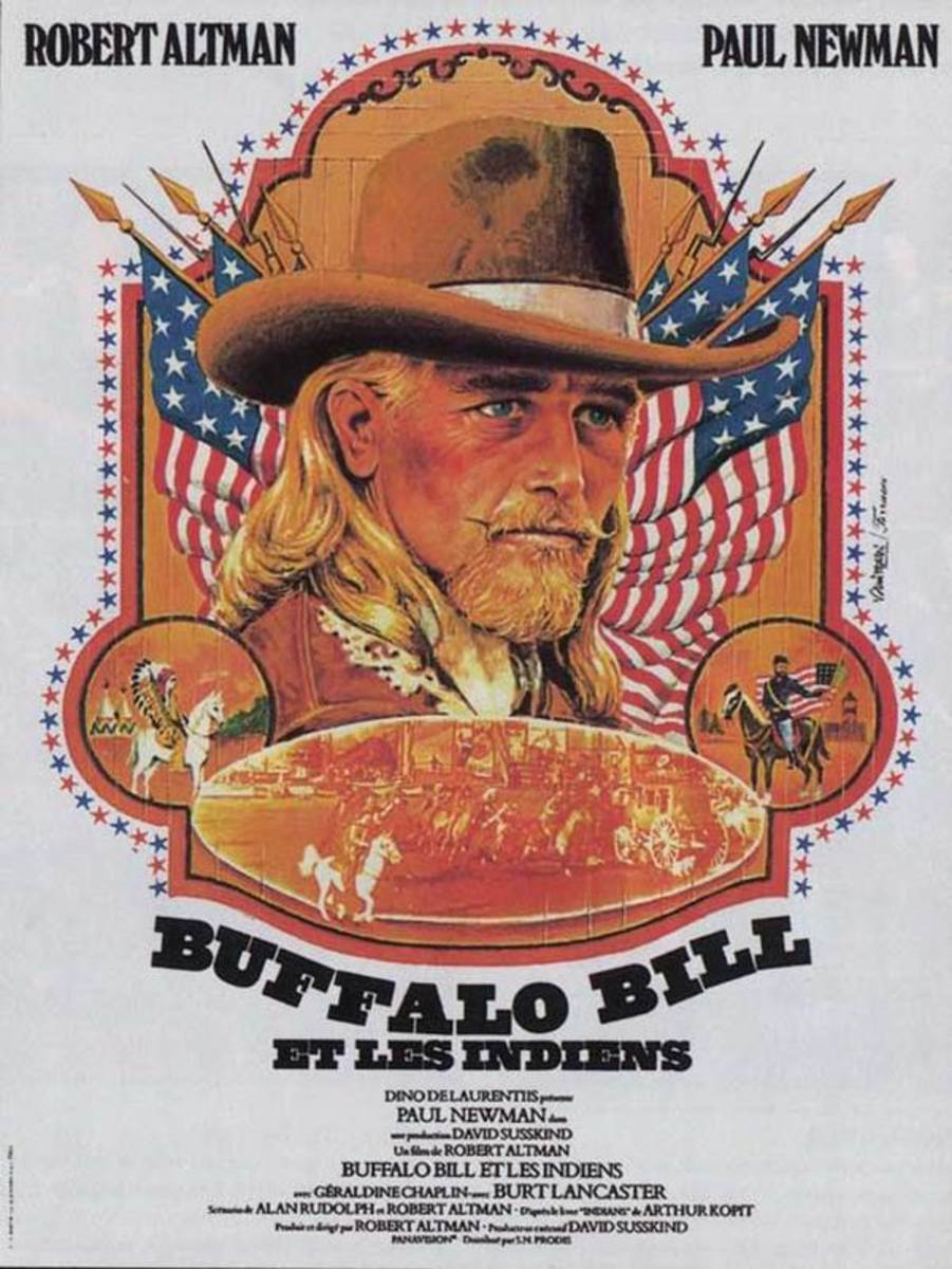 Buffalo Bill and the Indians (1976) French poster