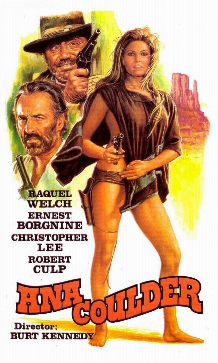 Hannie Caulder (1971) Spanish poster