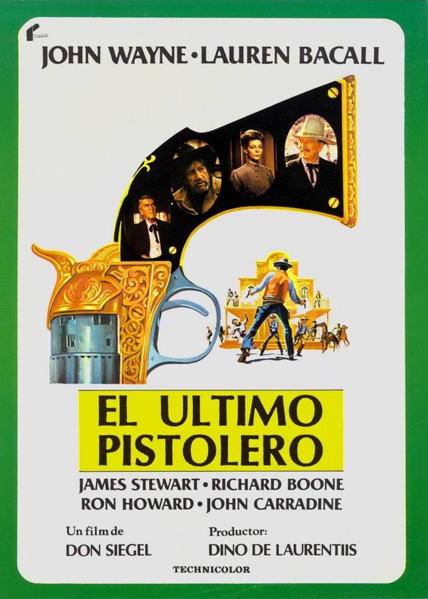 The Shootist (1976) Spanish poster