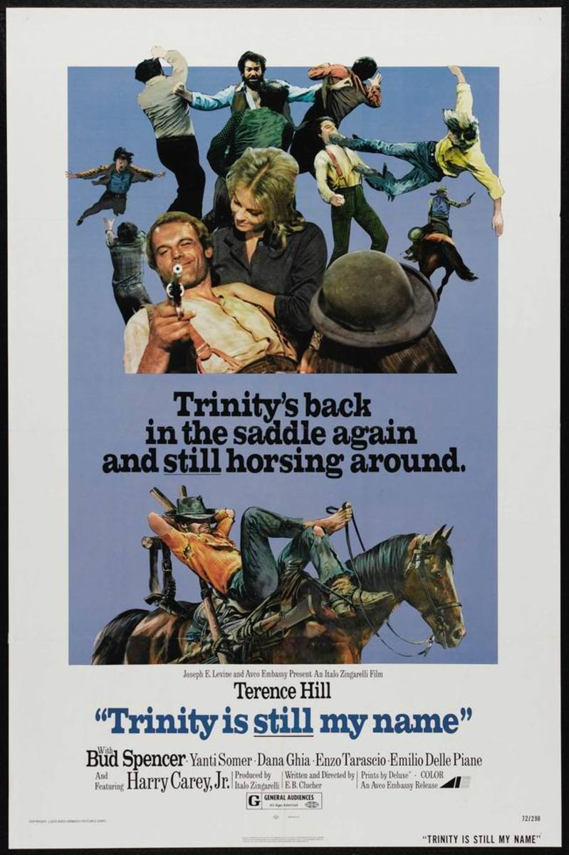 Trinity is Still My Name (1972)