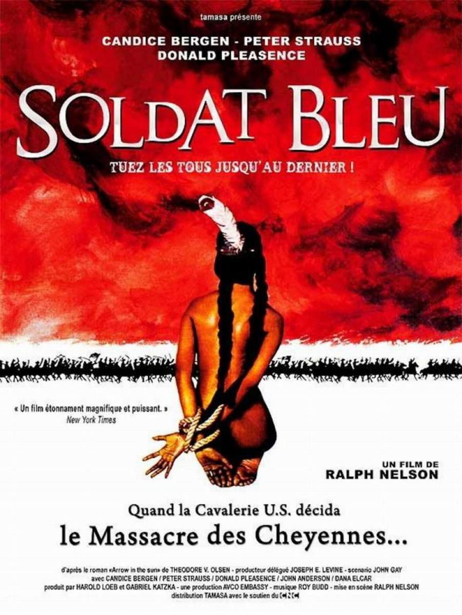 Soldier Blue (1970) French poster