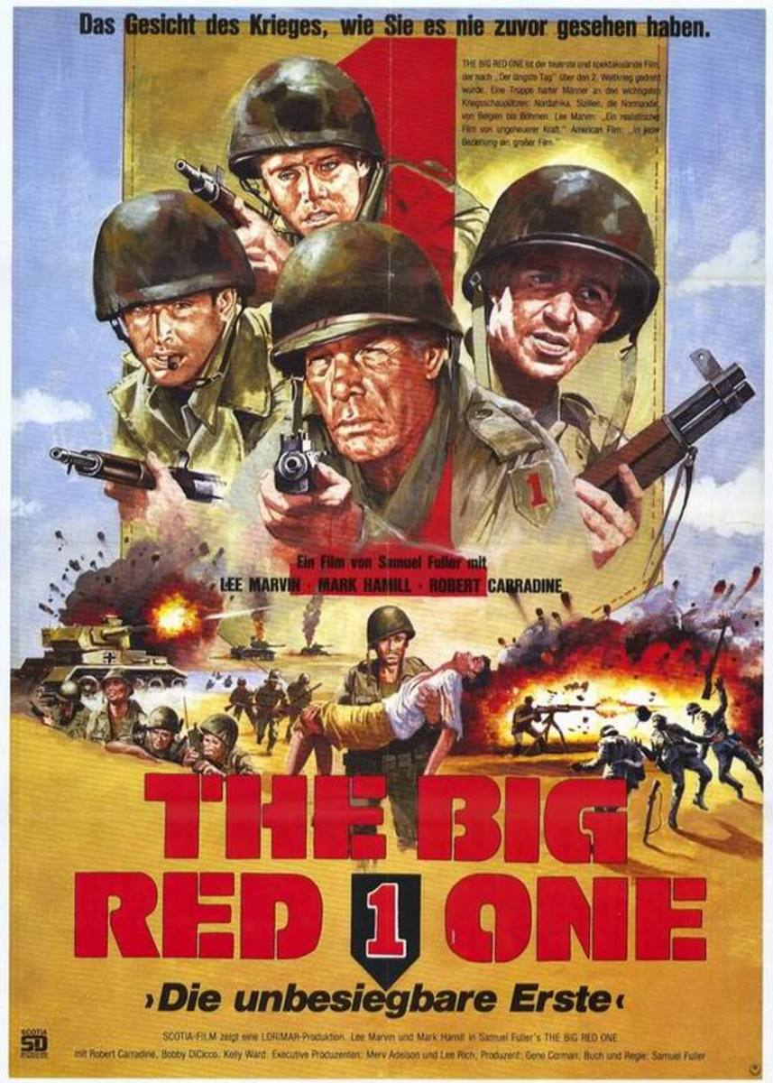 The Big Red One (1980) German poster