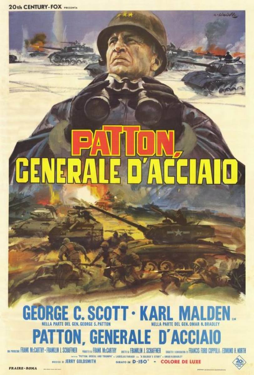 Patton (1970) Italian poster